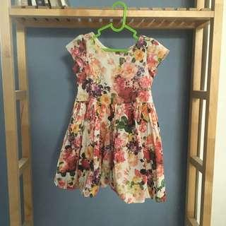 #ibuhebat jual Flower Dress