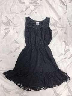 BN Sweetheart Black Mesh & Lace Dress #makespaceforlove