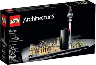 LEGO Architecture 21027 Berlin 柏林