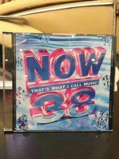 Now 38 Playlist CD