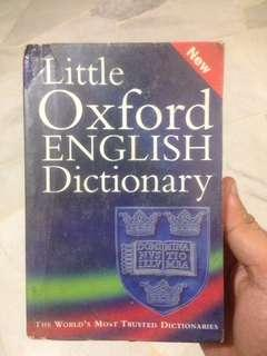 Little Oxford English Dictionary (Eighth Edition)