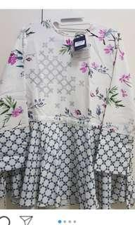 New azura top white sakura alezalabel ld 100