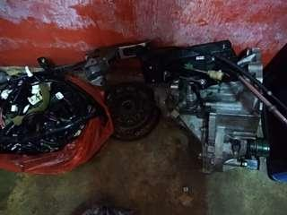 Gearbox manual axia