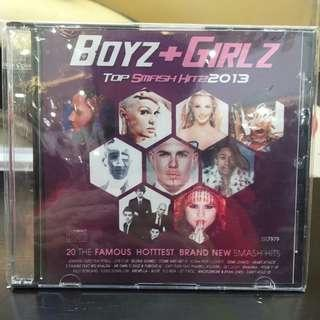 Boys and Girls Hitz 2013 CD