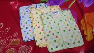 Baju Atasan Kutung Bayi