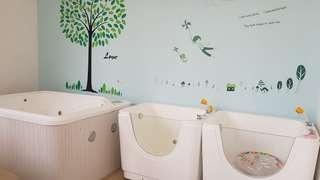 Commercial baby spa, jacuzzi