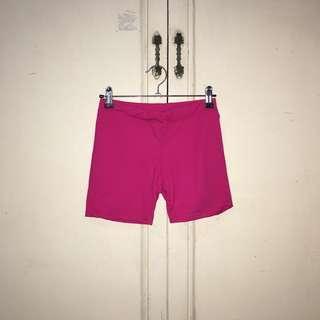 Hot Pink Cycling Shorts