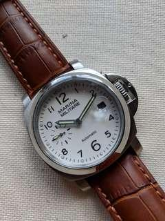 40mm Marina Militare White Dial Automatic Watch