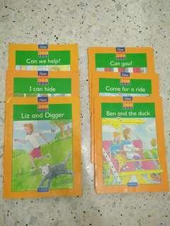 Early Readers for young children x6 books