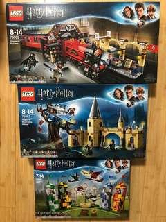 Harry Potter Lego三盒$1480