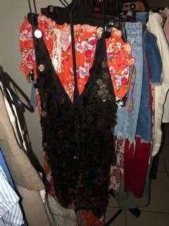 Motel Sequin Dress