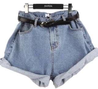 反折 短褲