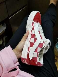 Vans old skool primary check fat year edition