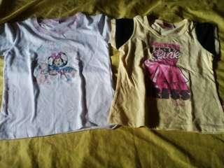 Barbie & Disney Shirt Bundle