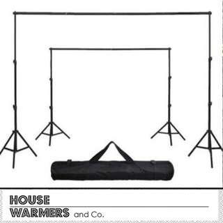 Photoshoot Stand 2.6m x 3m