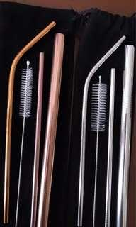 Ready Stock! Stainless Steel Straw