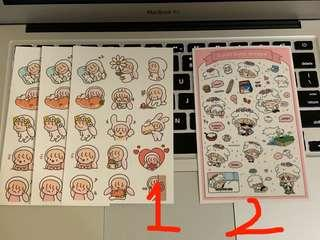 EXO FANART STICKERS