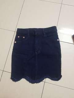 🆕️High Waist Jeans Skirt