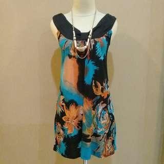 Dress import gradiasi elegant