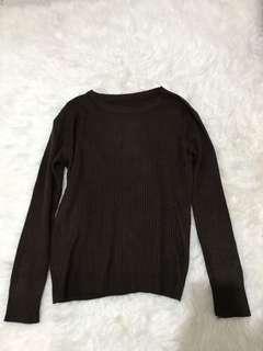 Knitwear/Sweater Dark Brown