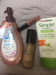 Sephora Mixed Makeup/Skincare