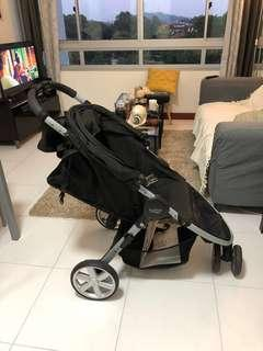 Black Britax Stroller Pram