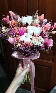 Wedding Pink Hand Bouquet