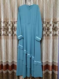 Gamis Syaqeena Syar'i XL