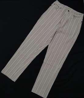 STRIPE DENIM PANTS
