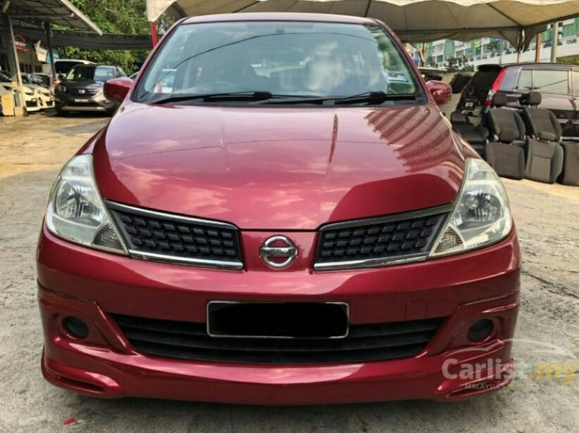 2007 Nissan Latio 1.6 ST-L Sport (A) One Owner Full Bodykit