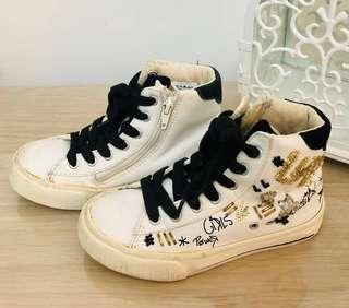 🚚 Pre 💖 Auth Zara Kids High Cut Fashion Boots