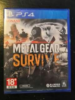 PS4 *New & Sealed* Metal Gear Survive