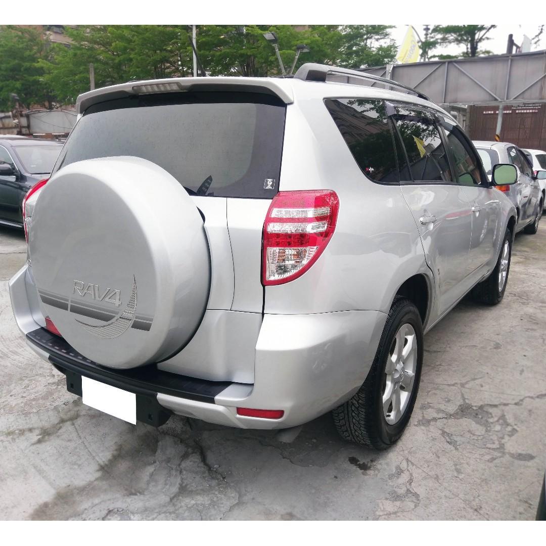 2012年Toyota RAV4 2.4 銀  『阿賢精選車坊』賞車專線:0908169110