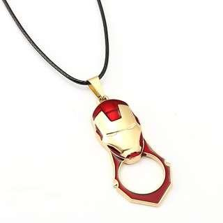 IRONMAN necklaces mini knuckles