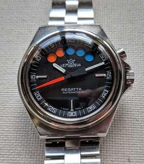 Vintage Lemania Regatta Automatic Watch Ref. 2001