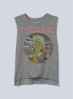 CHASER Iron Maiden muscle tee