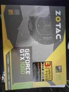 Zotac Graphic card GeForce GTX 1060 6GB