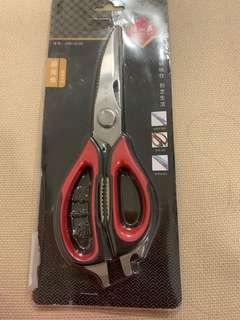 🚚 Multipurpose kitchen stainless steel scissors BNIB