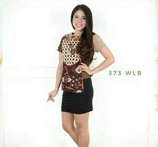 Blouse batik stretch M