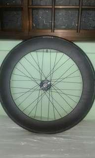 70mm aluminium front wheel