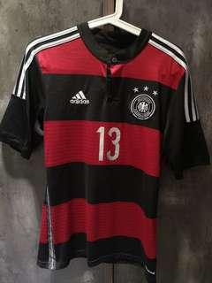 Germany Adidas S Size Authethic Jersey with Ballack Nameset