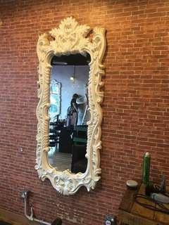 Long Big Classic Luxury Mirror