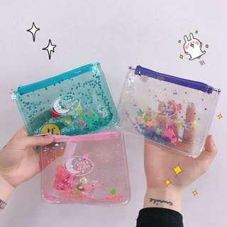 Glitter Transparent Purse
