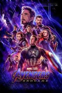🚚 Endgame main movie poster