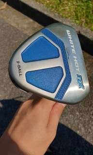 Odyssey White Hot Rx  2 Ball Golf Putter Super Stroke Mid 2.0 Grip
