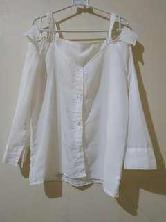 White Blouse Model Kekinian