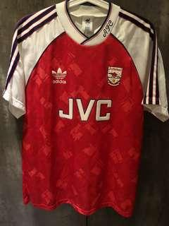 Arsenal Adidas Vintage Jersey with JVC Logo