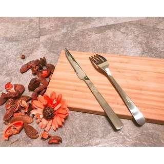 【清倉特惠 全新現貨】不鏽鋼餐具 刀叉組 環保 餐具 刀叉 叉子 水果叉 牛排刀 主餐刀