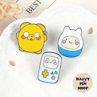 🚚 [AVAIL] Adventure Time chibi enamel pins