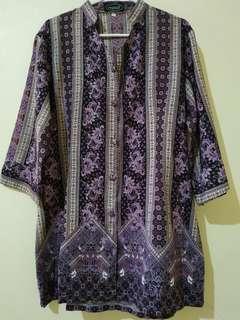 Blouse Batik Ungu, Mewah